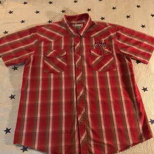 Men's Lucky 13 Button Down Shirt